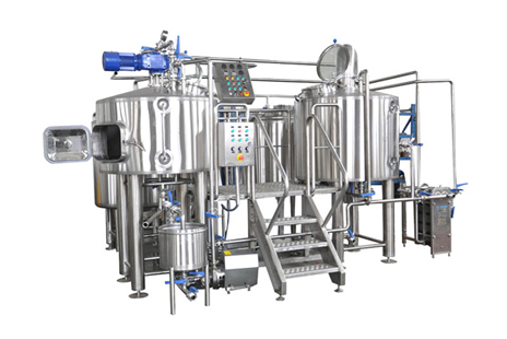 How can beer production equipment produce low-alcohol beer?