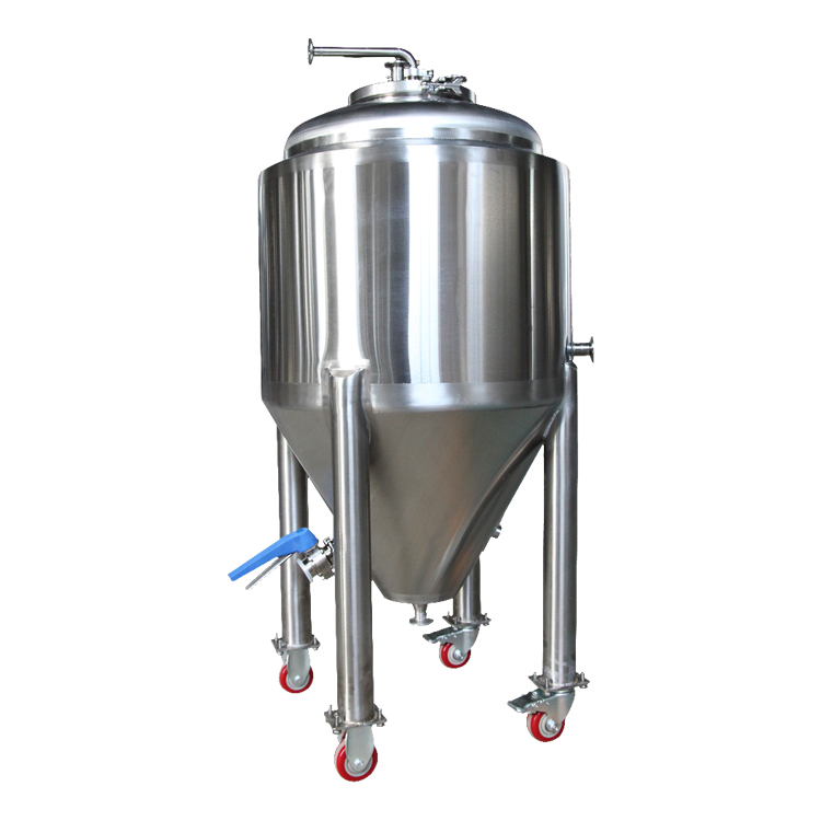 500L stainless steel conical beer fermenter tank for brewhouse