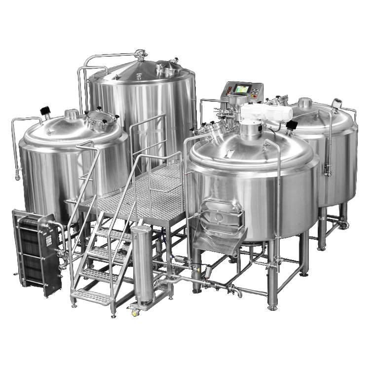 1000L 2000L Complete System Micro brewery Equipment Brewhouse For Beer Factory
