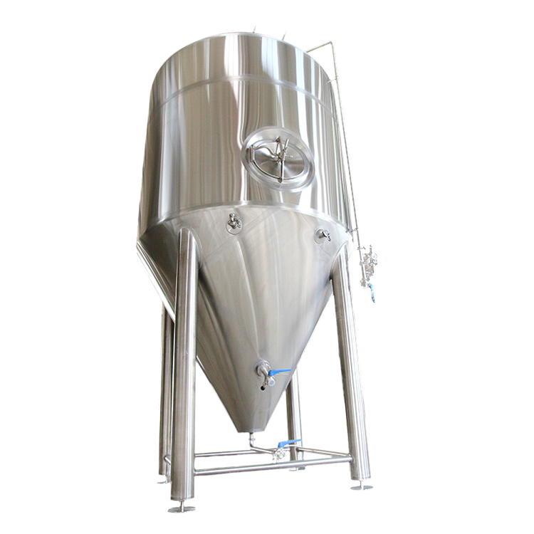 fermentation tank 100L 200L 500L 1000L 2000L 20HL 3000L 5000L beer brewery conical fermenter