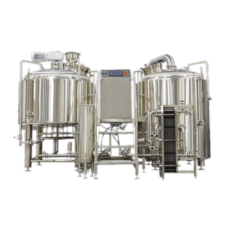 Stainless steel steam brewhouse 10HL brewery equipment