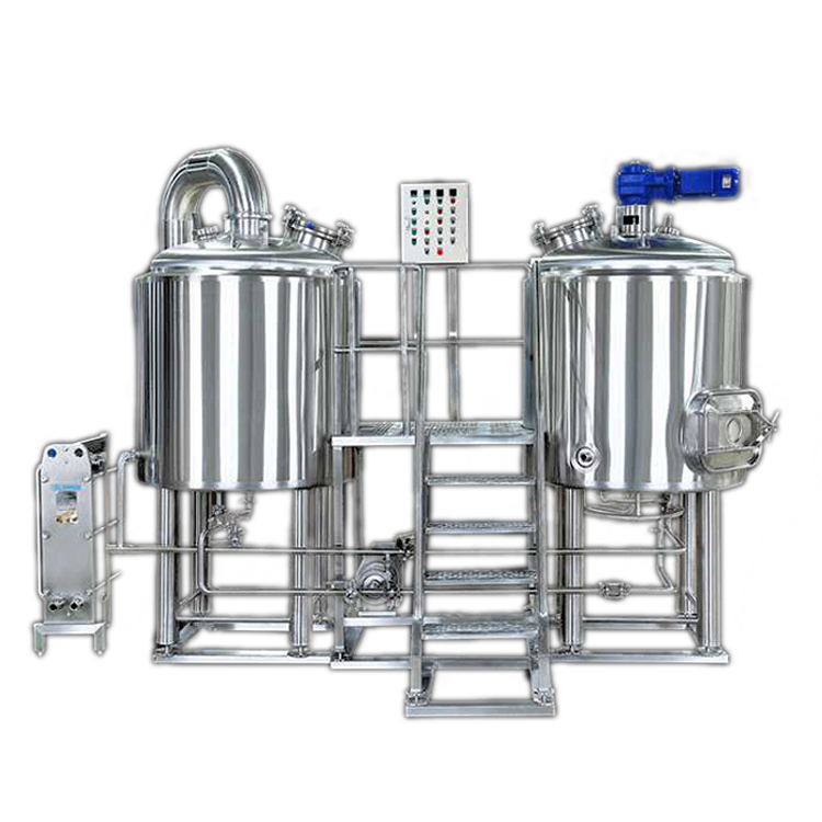 Industrial brewing System 5000L beer equipment Four Vessel Brewhouse
