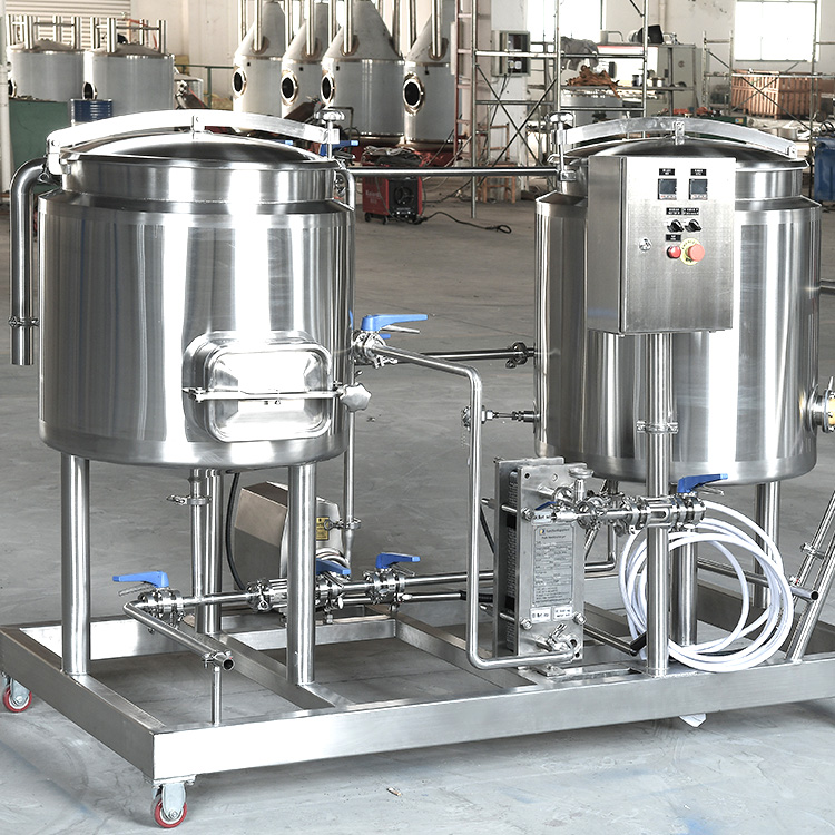 Precautions for brewing saccharification method in beer equipment