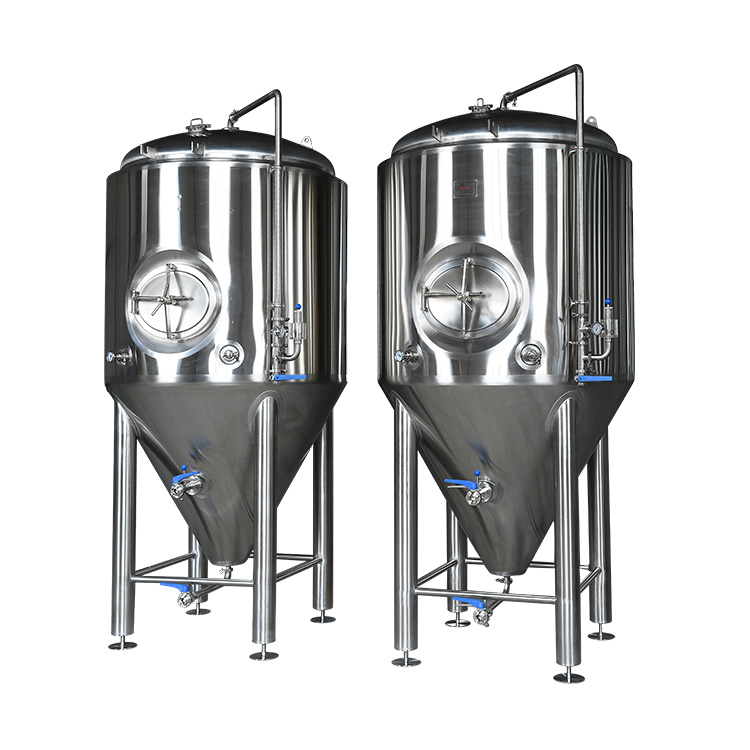 brewery fermentation tanks customized beer brewing equipment Mash System Turnkey Project for Craft Beer Making