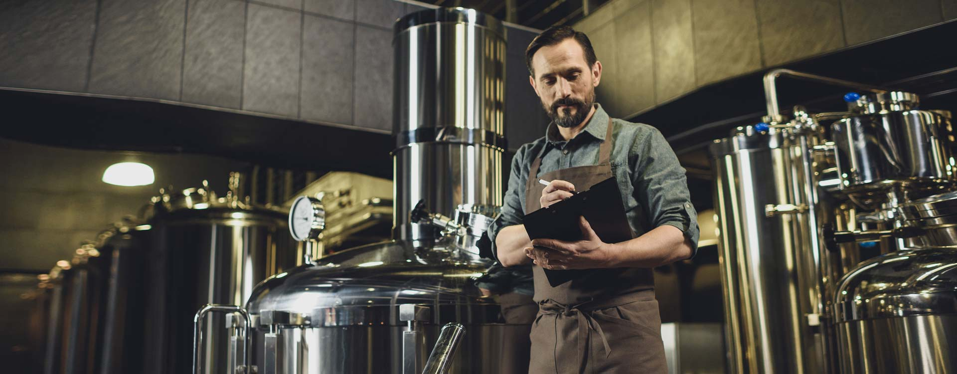 Self-brewing beer equipment safely